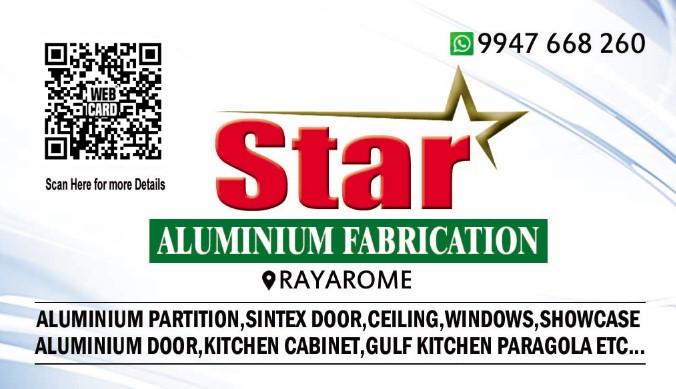 Star Aluminium Fabrication - Webcard®